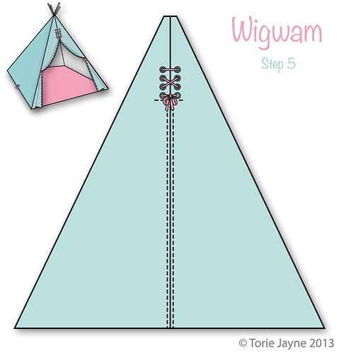 Wigwam Step 5