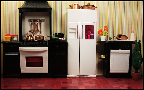 Completed Kitchen by DollsinDystopia
