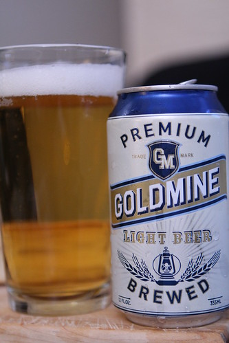 Goldmine Light Beer