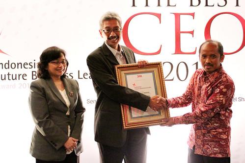 The Indonesia Future Business Leader 2013: Handoko J. Santoso.