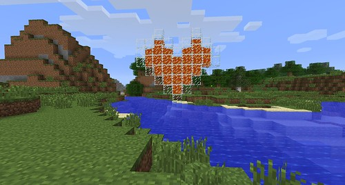 Lava Minecraft Heart
