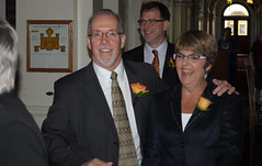 John Horgan, Adrian Dix and Carole James
