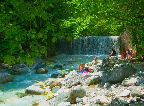 green nature water photography view sunny greece lovely edessa loutra pozar aridaia mavridis θέα αριδαια