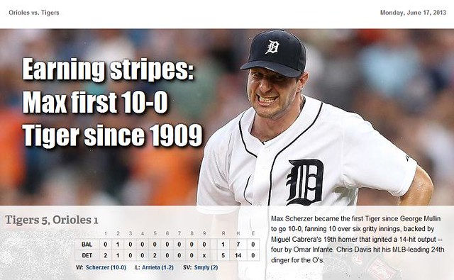 2013 DETROIT TIGER SCHEDULE AND RESULTS - Page 3 9073866436_1afc6820f6_z