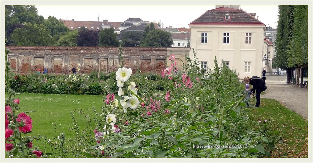 Einer der ersten öffentlichen Wiener Parks - der Augarten