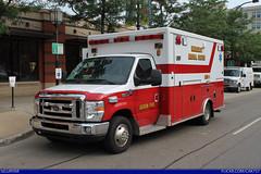 AFD Medic 9 Ford E-450 Ambulance