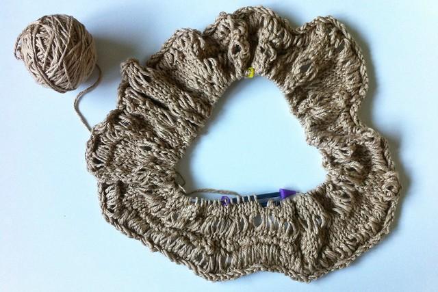 Knit Skirt WIP