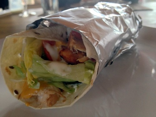 Chicken-Wrap, selbstgemacht