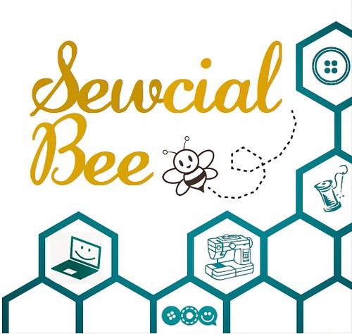 Sewcial Bee Logo