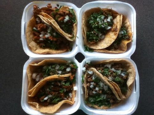 Tacos from Enrique's Market