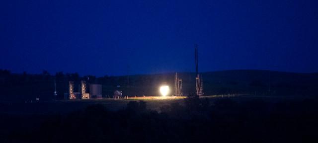 Natural Gas Flare Stack Design