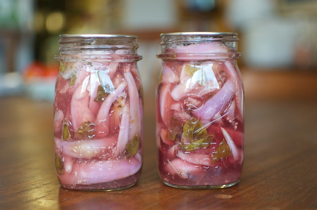 two pints pickled fairytale eggplant