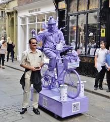 York City Centre - June 2013 - Candid - Lilac Cyclist