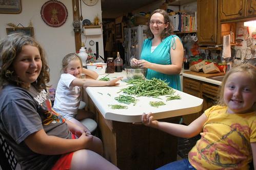Emma: Green beans!