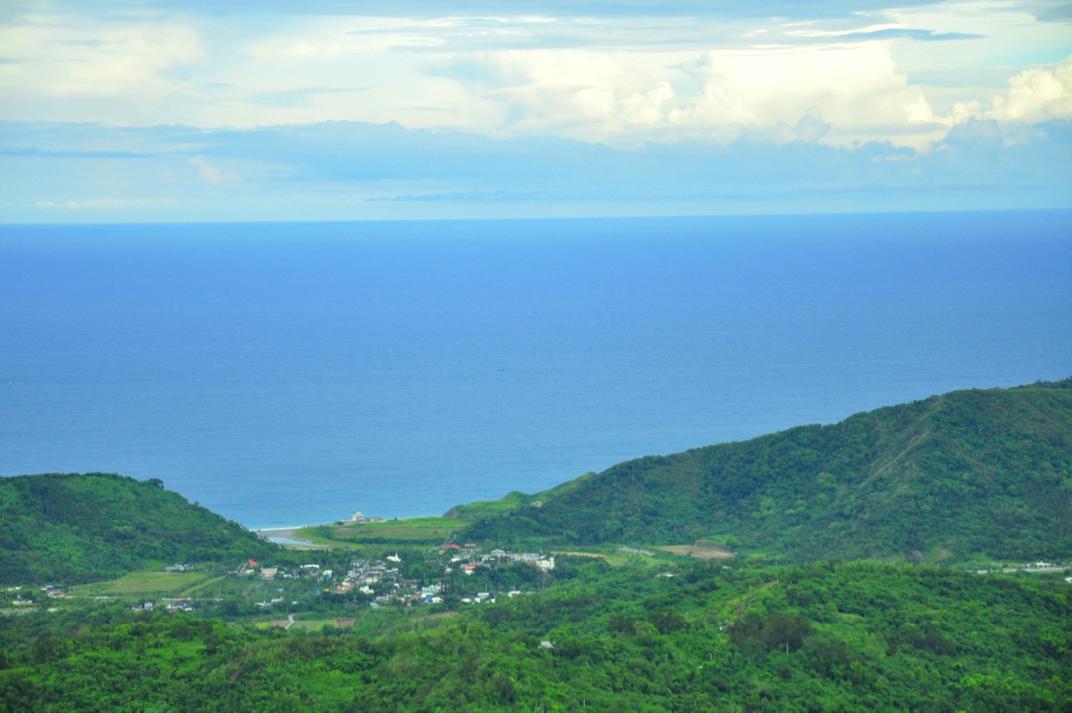 由米棧古道眺望水璉小村,圖片來源:劉軒含