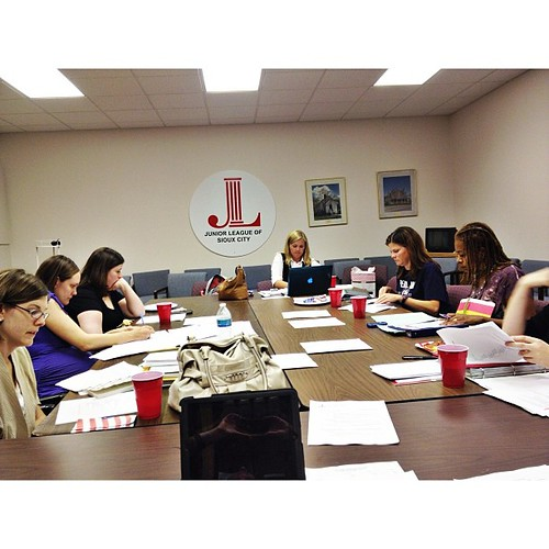 First official Board Meeting of the Year for Junior League of #siouxcity #jlsiouxcity