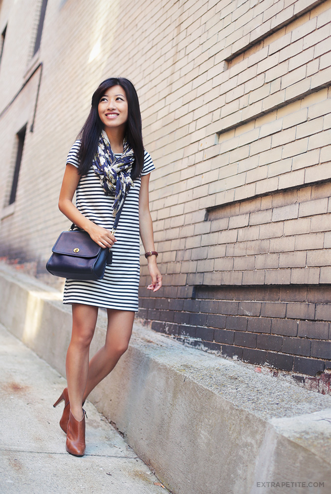 Striped Shift Dress3