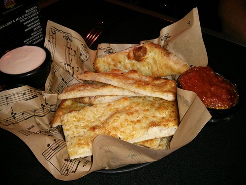Garlic Mozz Bread @ The Rock Wood-fired Pizza & Spirits