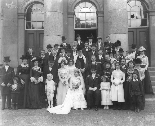 ireland wedding children groom bride veil lace feathers hats beards pearls jewellery gloves moustaches jewish rabbi 20thcentury waterford johnstreet munster bouquets plumes glassnegative cravats 1901 takingstock tophats buttonholes mazeltov npa catherinestreet nationalphotographicarchive nationallibraryofireland waterfordcourthouse morningcoats ahpoole poolecollection arthurhenripoole dateestablished takingstockexhibition estherlevin myerstein hatoriffic ubiestcanis