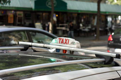 Taxi in Paris