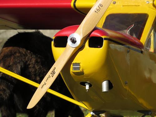 Repaginação de um Piper J-3 para um Neiva P56 C Paulistinha  9486404557_a5debf9688