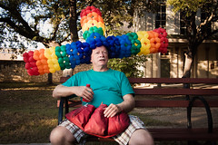 The Technicolor Balloon Hat