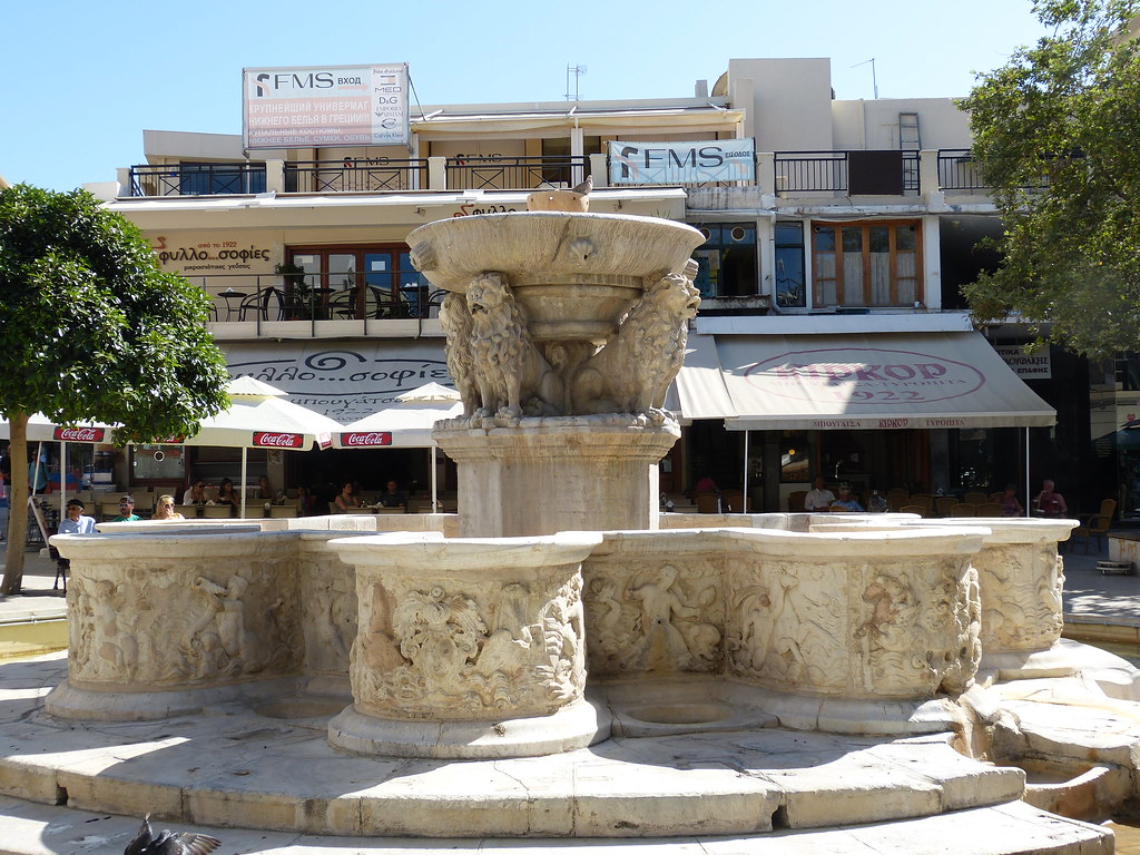Morosini Fountain, Heraklion