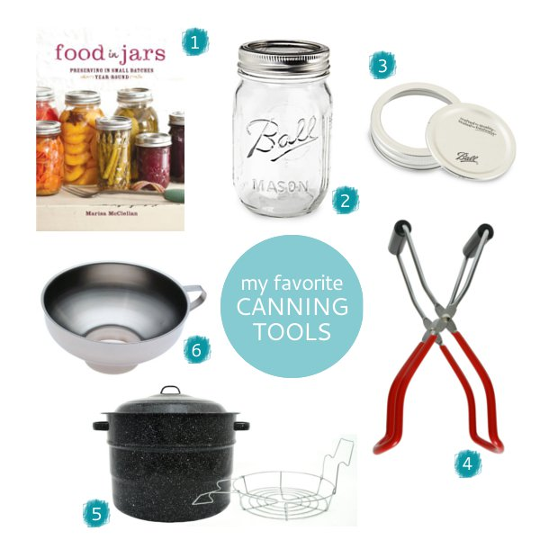 My Favorite Canning Tools