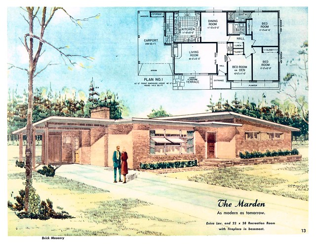 Marden as modern as tomorrow homes of color flickr for Tomorrow homes
