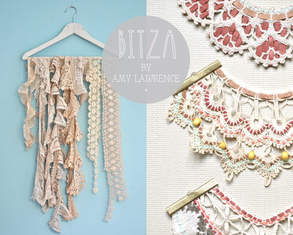 New BITZA collection of upcycled crochet jewellery from Amy Lawrence Knitted Designs | Emma Lamb
