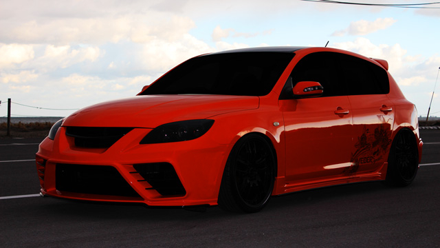 Mazda 3 Axela 2017 >> mazda 3 hatchback body kits | Best Cars Modified Dur A Flex