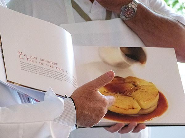 tatin de foie gras