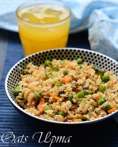 Oats upma recipe with vegetables indian oats breakfast recipe breakfast dinner indian oats recipes oats vegetable upma forumfinder Gallery