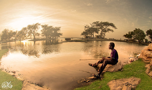 sunset sudan fineart alshajara hishamkarouri alrayalmasri