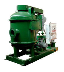 KOSUN solids control equipment-Degasser-a big agitator for the drilling mud