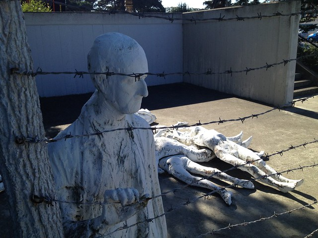 Holocaust Memorial by George Segal