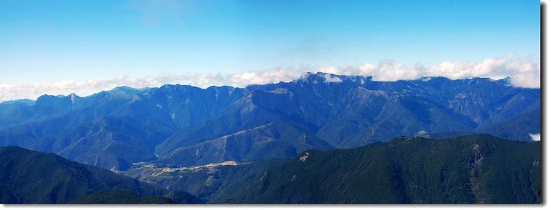 雪山山脈(From 中央尖山) 2