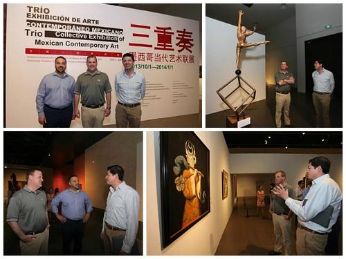 Consulmex Shanghái exhibición de arte fotor