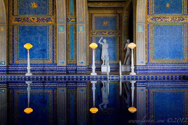 Roman Pool, Hearst Castle, San Simeon, California