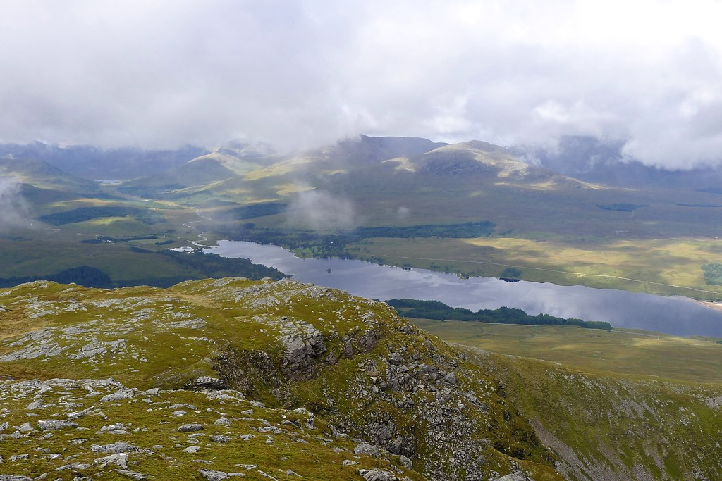 The Black Mount and Loch Tulla