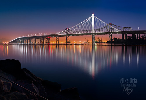 Bay Bridge Blue Hour (Explore #304)