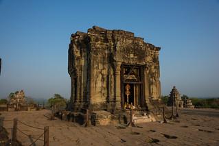 Image of Phnom Bakheng near Siem Reap. cambodia siemreap