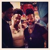 Oh, just chillin with #robertglasper & #caseybenjamin. #thequeen #killerhair #firststate #inourelement