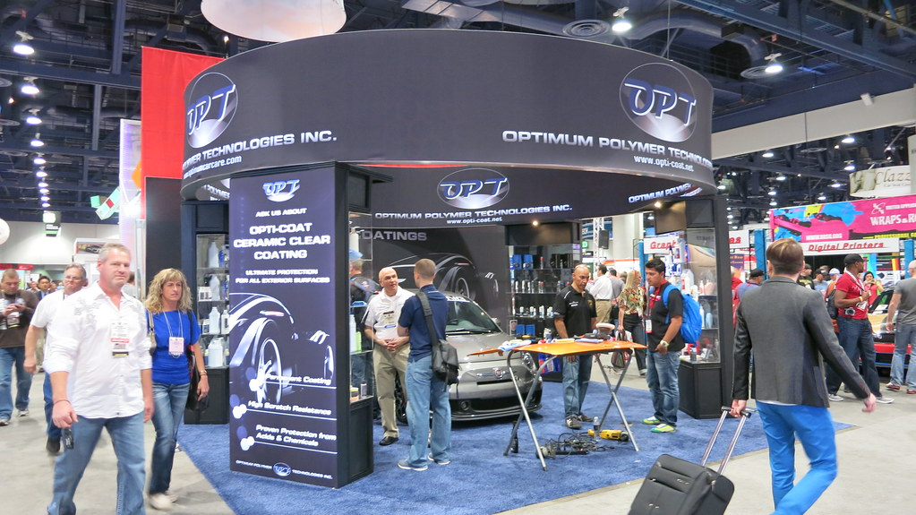 SEMA Show Day 2 - Optimum Car Care