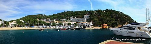 sports nautiques sur la costa brava - Llafranc