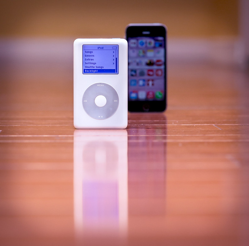 iPod went on sale 12 years ago
