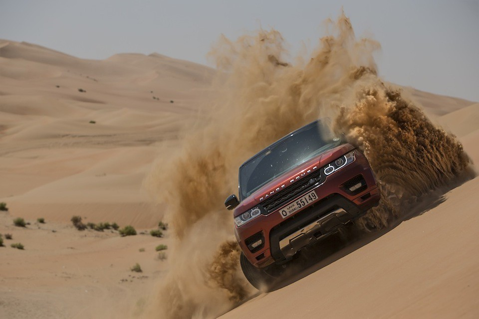 New Range Rover Sport | The Empty Quarter Driven Challenge