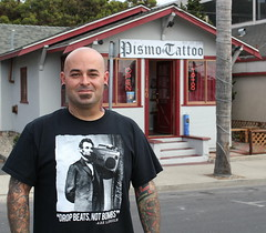 Drop Beats, Not Bombs at Pismo Tattoo