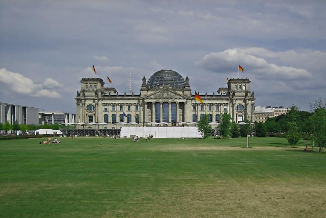 Berlin - Reichstag, Canon POWERSHOT SD400
