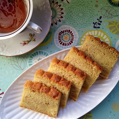 Hazelnut Butter Cake by Fitri D. // Rumah Manis